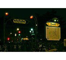 Europe Metro (Green) Photographic Print