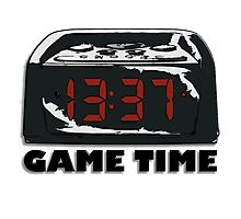 Digital Game Time Photographic Print