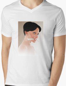 irene adler Mens V-Neck T-Shirt