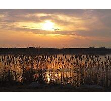Peaceful Sunset Photographic Print