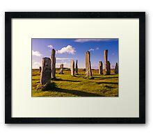Callanish Stones Early Summer Framed Print