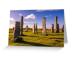 Callanish Stones Early Summer Greeting Card