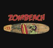 Zombeach by Damnnned