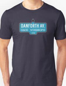 Danforth Avenue, Toronto Street Sign, Canada T-Shirt