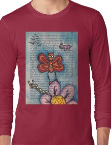 Zombie Butterfly Long Sleeve T-Shirt