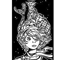 Magic Of A Capricorn by AbbeyGrayArt
