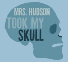 mrs. hudson took my skull by sherlock212b