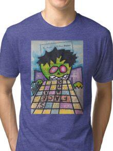 Scrabble Zombie Tri-blend T-Shirt