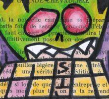 Scrabble Zombie Sticker