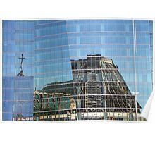 Cathedral Reflection #2, Rio de Janeiro, Brazil Poster
