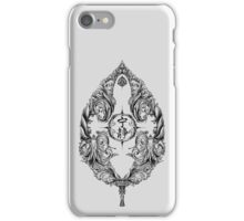 Serenity Victoriana - Black iPhone Case/Skin