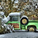 The Old Green Truck by K D Graves Photography