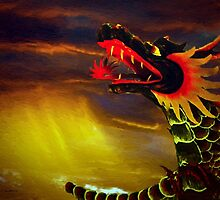 Dragon by artstoreroom