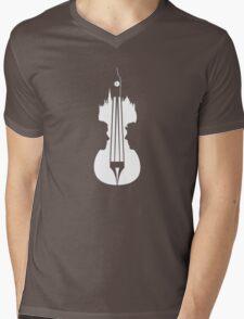 sherlock violin big ben Mens V-Neck T-Shirt