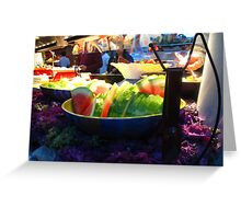 Buffet style Greeting Card