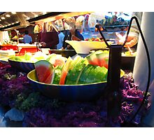 Buffet style Photographic Print