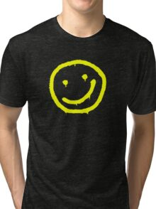 sherlock smiley Tri-blend T-Shirt