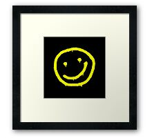sherlock smiley Framed Print