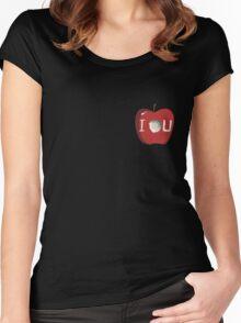 I O U Women's Fitted Scoop T-Shirt