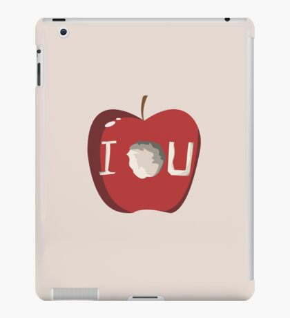 I O U iPad Case/Skin
