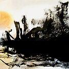 sundown over the river.... by banrai