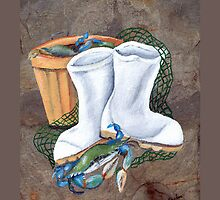 White Boots and Crabs Cover by Elaine Hodges