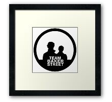 team baker street Framed Print