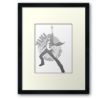 Persona 4 Dancing All Night - Yuu Narukami Framed Print