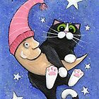 The Cat and the Moon by Lisa Marie Robinson