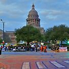 The Protest March from Austin State House  by Jack McCabe