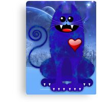 BLUE TOM Canvas Print