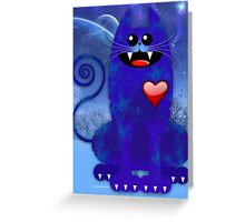 BLUE TOM Greeting Card
