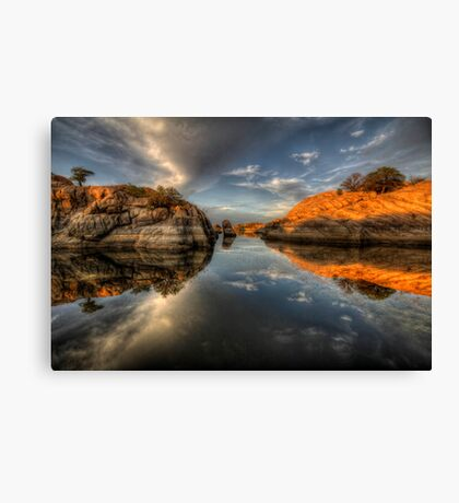 One to Another Canvas Print