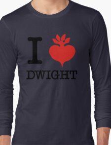 I Beet Dwight  Long Sleeve T-Shirt