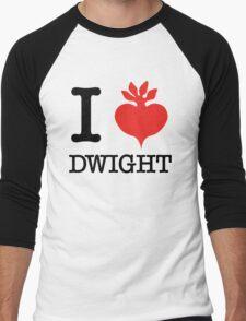 I Beet Dwight  Men's Baseball ¾ T-Shirt