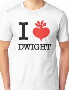 I Beet Dwight  Unisex T-Shirt