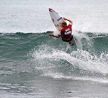 Mick Fanning at The Breaka Burleigh Pro by Noel Elliot