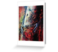 Sensuel, featured in Art Universe, Best of Redbubble, Painters Universe, Shameless Self-Promotion Greeting Card