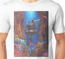 Watchman of Eternity - part 2 - Baba Yaga nested inside the body of Grauer Mann Unisex T-Shirt