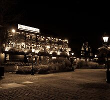 Dickens Inn Pub St Katherines Dock by DavidHornchurch