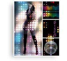 Dance series - Disco Canvas Print