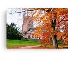 St Mary's Church, Lydiard Tregoze HDR Canvas Print
