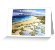 Cape Hawke - Forster Greeting Card