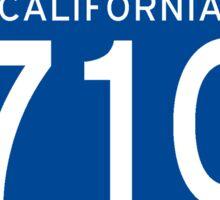 Interstate Sign 710 California, USA Sticker