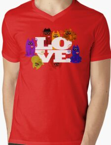 WE WISH YOU LOVE ALWAYS! Mens V-Neck T-Shirt