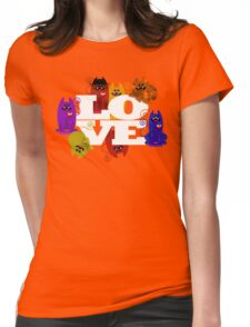 WE WISH YOU LOVE ALWAYS! Womens Fitted T-Shirt