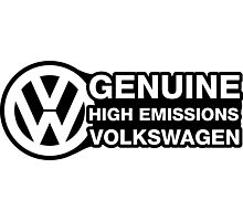 Genuine High Emissions VW Photographic Print