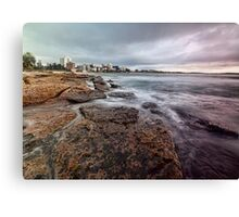 On the Rocks - Cronulla NSW Canvas Print
