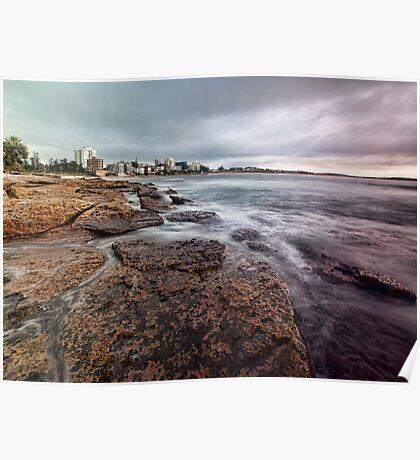 On the Rocks - Cronulla NSW Poster
