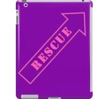 FIGHTER RESCUE - Sassy Purple iPad Case/Skin